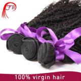 Pacotes de cabelo humano da Virgem indiana de Kinky Curl de alta qualidade