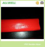 PVC de plástico amarillo Layflat manguera de fibra de agua trenzada manguera de riego de tubería