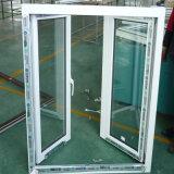 Экономического дизайн белой рамкой одно окно UPVC стекол
