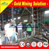 Перерабатывающее предприятие минируя оборудования сепаратора штуфа Zircon олова таблицы концентрации золота