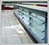 Freier Raum/Bronze/Grün/Blaues/bereiften,/gekopierte Fenster-Glas-Luftschlitz