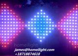 3m *6m haltbarer LED videovorhang mit greller Effekt-Partei-Hochzeit