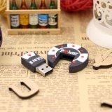 Azionamento della penna personalizzato flash del gioco del PVC del USB delle stelle della mazza