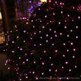 太陽動力を与えられた100つのLEDローズの赤い屋外のクリスマスストリングライト