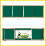 Verschiedenes schiebendes Whiteboard für modernen Unterricht