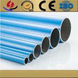 Fabrication 6061/6063/6082 pipe/tube ronds en aluminium argentés anodisés par T5