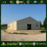 Здание утвержденной низкой стоимости SGS стальное полуфабрикат для мастерской (L-S-47)