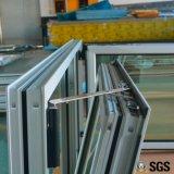 Finestra interna di inclinazione & di girata di profilo di alluminio grigio di colore di alta qualità, finestra di alluminio, finestra K04003