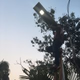 動きセンサーが付いている熱い販売6W-80Wの統合された太陽街灯