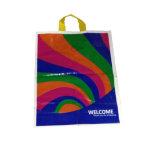 Vier Kleur Afgedrukte het Winkelen Zakken voor Kledingstukken (fll-8353)