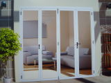 Portelli pieganti del Pantry della Bi di alluminio con vetro