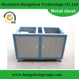Fábrica de las piezas de metal de hoja para la caja del acero inoxidable