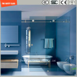 Acier inoxydable réglable en verre 6-12 Tempered, bâti en aluminium glissant la pièce de douche simple, pièce jointe de douche, cabine de douche, salle de bains, écran de douche