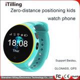 Mode Smart Watch téléphone mobile de l'écran tactile du téléphone cellulaire avec appareil photo /WiFi/GPS/fente pour carte SIM/Podomètre/Moniteur de fréquence cardiaque /logiciels personnalisés