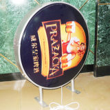 Het Vacuüm Vormen Lightbox van de Prijs van de Fabriek van Guangzhou zich voor reclame