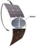 18V 100W ETFE Flexible Soft Solar Panel con Sunpower Cells
