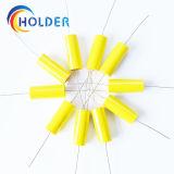 Tipo de salidas axiales del condensador de la película del polipropileno de Matallized (Cbb20 335J/250V)