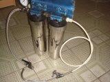 2stages Undersink水Purifier+Tap Connector+Water圧力Meter+Tapコック