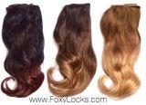 8A Ombreの毛のペルーのバージンの毛ボディ波のOmbre 3の調子の毛の織り方3 PCS Ombreの毛の束8-28inchペルーボディ波