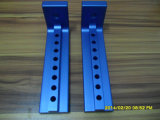 Прототип CNC алюминиевый быстро с синью анодировал