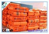 Imbracatura sintetica della tessitura (tipo di corpo largo) 5t X 3m