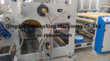 Machine feuilletante adhésive de machine à étiquettes de barre rotatoire