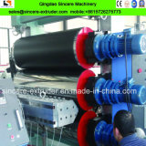 Línea plástica de la protuberancia de la producción del estirador del solo tornillo de la hoja de Geocell del HDPE