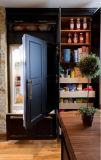 Customized Classic elegante estilo Romântico armário de cozinha
