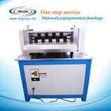 600mm Breiten-halbautomatische aufschlitzende Maschine für Lithium-Ionenbatterie-Elektroden-Blatt