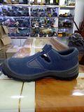 De Schoenen van de Neus van het Staal van de Schoenen van het Sandelhout van de Veiligheid van de Schoenen van de Veiligheid van Pu Outsole