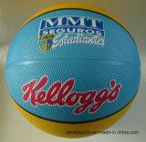 Basquetebol colorido da borracha do tamanho 5 do logotipo do OEM