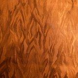 金属輝いた合成物質PUの革は装飾的な革を強調した