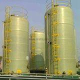 Tanque de armazenamento de líquidos líquidos GRP Tanque de FRP da China