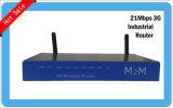 Modem senza fili industriale di punto caldo VPN HSDPA WCDMA FDD Lte di Openwrt della scanalatura del router SIM di vendita calda 3G WiFi per dispositivo di per il rifornimento idrico di sorveglianza del gatto del bus il video