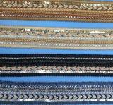 Nuova frangia del merletto dei branelli dei Sequins per i pattini