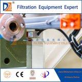 Imprensa de filtro automática da membrana para a água de esgoto de Food&Beverage