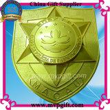 Placa de la medalla del metal del escritorio del gobierno de Macao