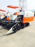 Water Cooling Diesel Engine with Turbo 4cylinder米のコンバイン収穫機