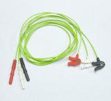 Holter 3 cables de cable ECG Clip para niños IEC