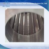 (manufatura) cilindro do filtro do poço de água do fio de V para o filtro de água