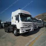 HOWO 상표 Rhd|LHD 수동 자동적인 6*4 트랙터 트럭