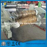 서류상 재생 기계를 위한 기계를 만드는 회색 널 두꺼운 종이
