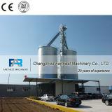 Compartimentos de aço e sistema de silos para armazenar casca de arroz
