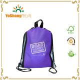 Самый дешевый выдвиженческий мешок Backpack Drawstring Non сплетенный