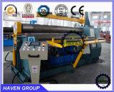 Verbiegende Maschine der hydraulischen Platte, Rollenmaschine W11H