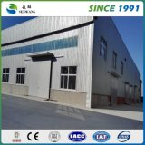 高品質の建築材料のプレハブの2階建ての鉄骨構造の倉庫