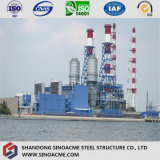 Taller principal de la estructura del marco de acero para la central eléctrica