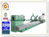 Grande tornio orizzontale resistente di CNC per l'asta cilindrica di alluminio di giro (CG61160)