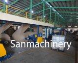 Haute efficacité Machine automatique de la production de carton alvéolaire/ligne avec la CE