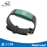 Wristband Rewritable del PVC di disegno RFID della vigilanza 13.56MHz